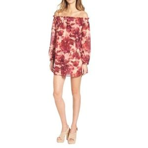 For Love and Lemons Wild Rose Sicily Mini Dress